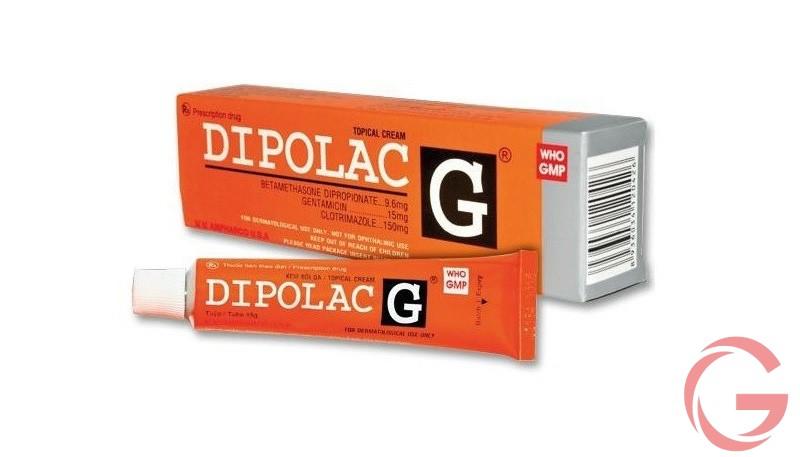 Kem bôi Dipolac dùng như thế nào
