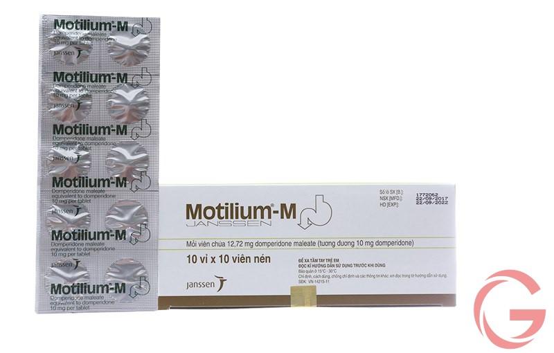 Motilium-M là thuốc điều trị bệnh gì