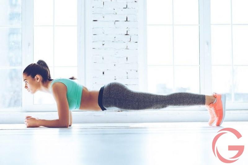 Cách giảm đau lưng khi tập plank