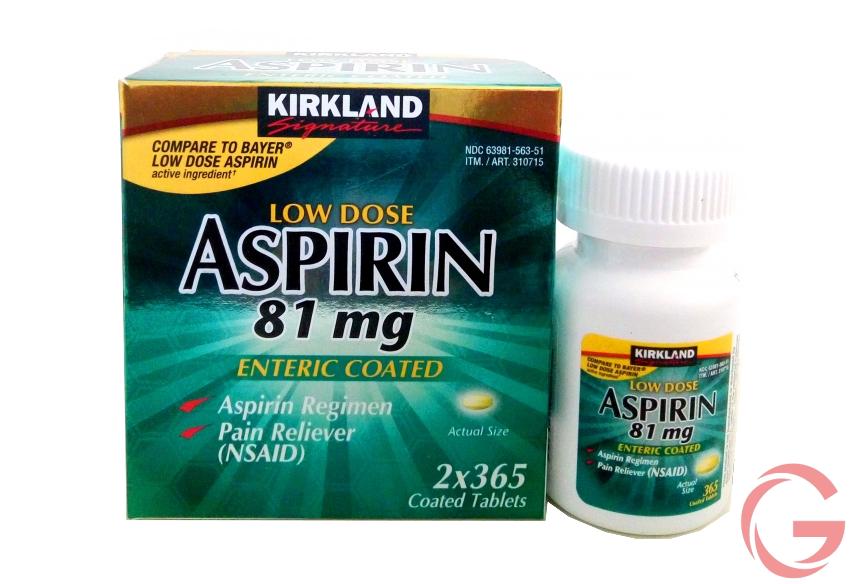 thuốc Aspirin 81mg