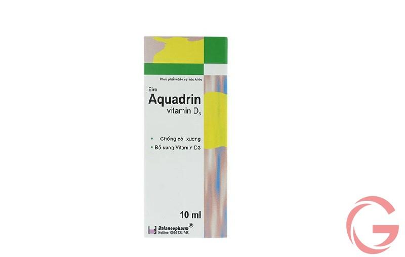 thuốc Aquadetrim Vitamin D3