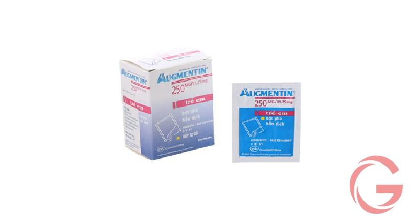Cách sử dụng thuốc Augmentin 250mg