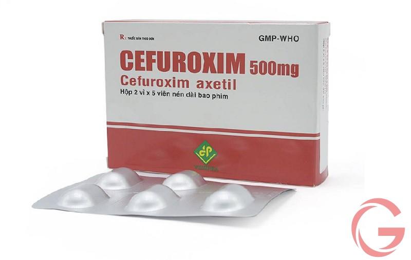 Chống chỉ định dùng thuốc cefuroxim 500mg