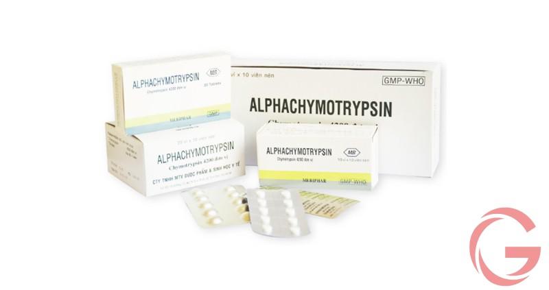 Thuốc chymotrypsin 4200 có giá bao nhiêu