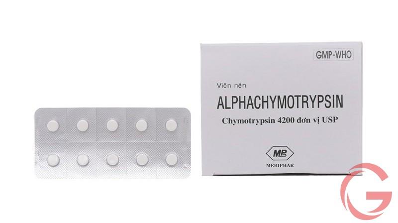 thuốc Chymotrypsin 4200
