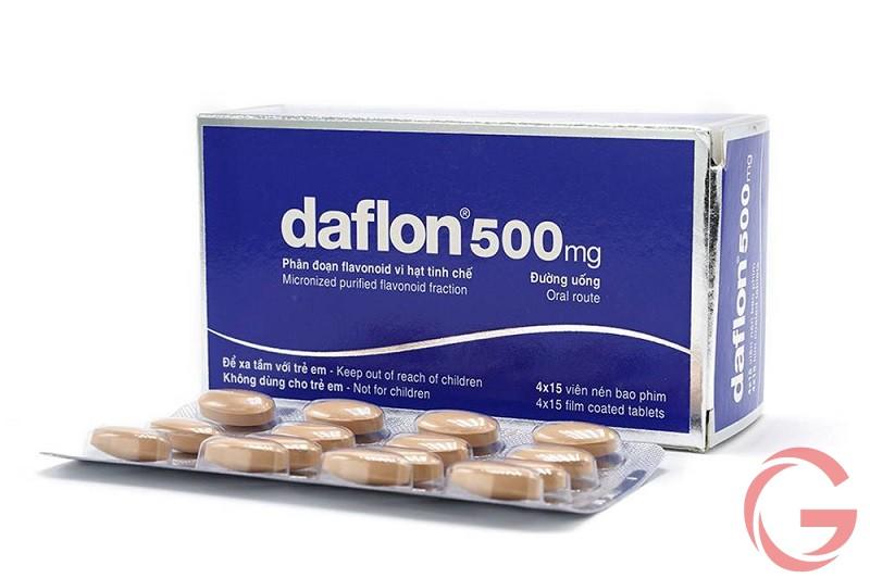 Liều dùng và cách sử dụng Daflon 500mg