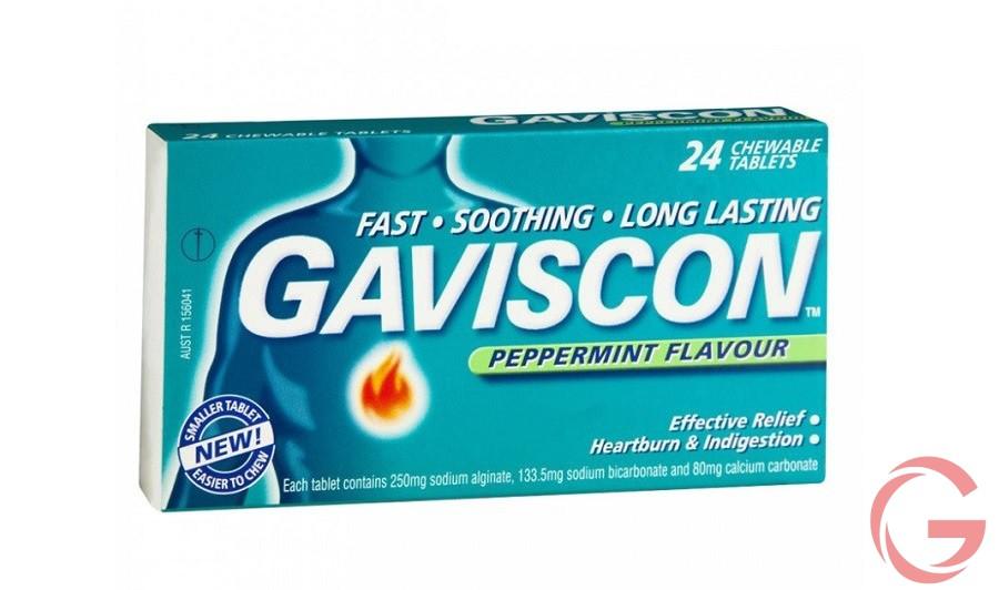 Cách dùng thuốc Gaviscon