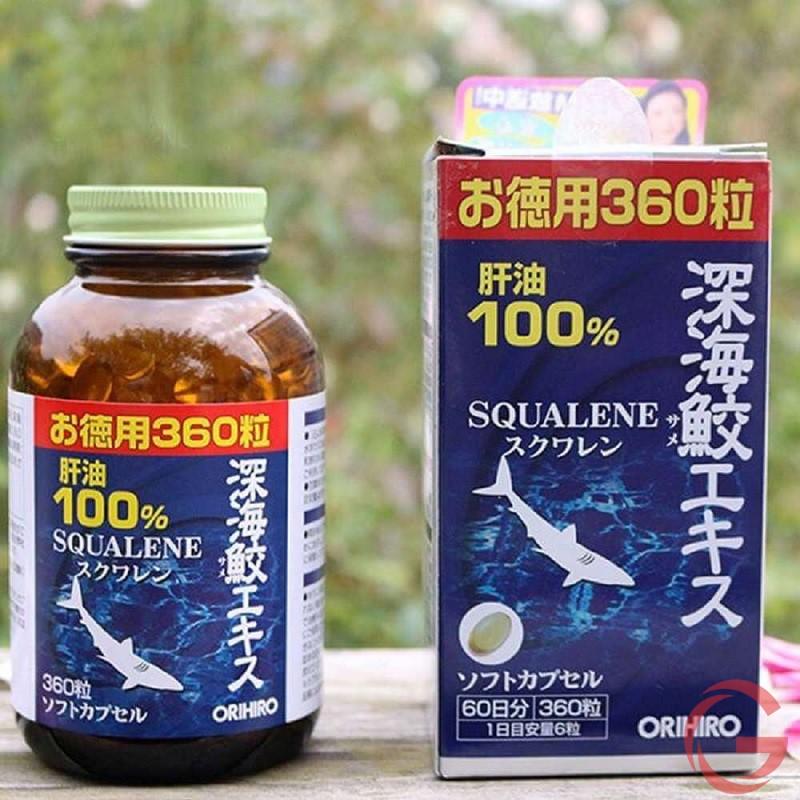 Thực phẩm chức năng Squalene Orihiro