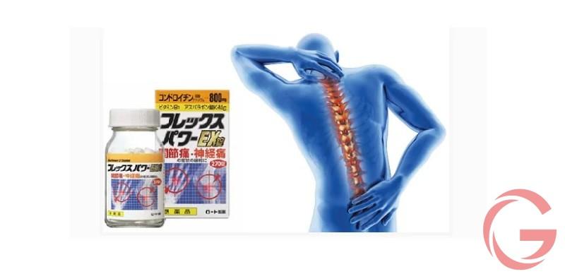 Thuốc đau lưng Flex Power EX