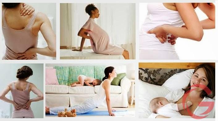 Làm thế nào để xóa bỏ tình trạng đau lưng sau sinh