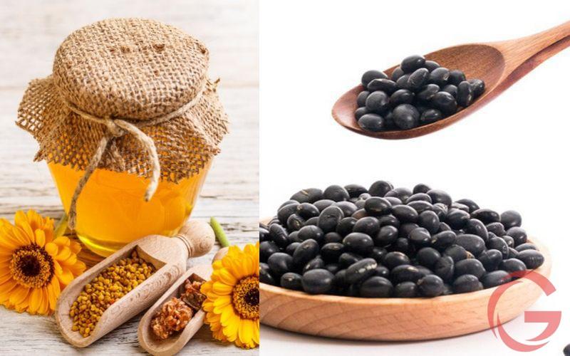 Kết hợp đậu đen và mật ong chữa bệnh trĩ
